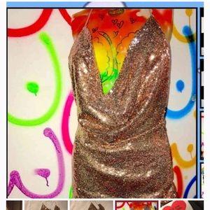 O-mighty glittoris mini dress